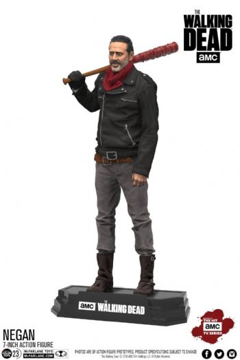 "McFarlane Toys The Walking Dead TV Series Negan Figure 7"" Colour Tops"
